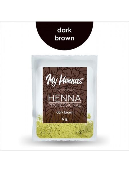 Хна My Hennas dark brown