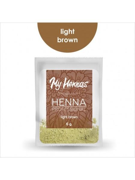Хна My Hennas light brown