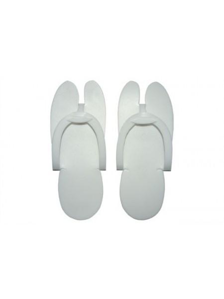 Тапочки одноразовые белые спанборд (25пар)