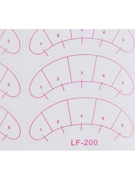 Бумажные патчи для ресниц
