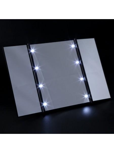Косметическое зерзало с led подсветкой