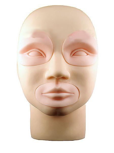 Модель лица со сменными частями