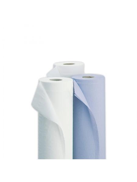 Простыни в рулоне 100 шт. 70*200 (цвет голубой); без перфорации